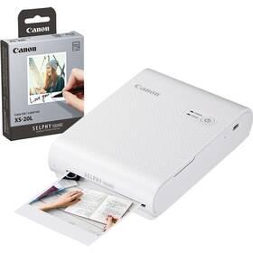 Canon Selphy Square QX10 + papíry 20 ks bílá