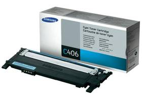 Samsung CLT-C406S, 1K stran - originální (CLT-C406S/ELS) modrý