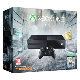 Microsoft Xbox One 1TB + hra Tom Clancy's The Division (MSOH00038)