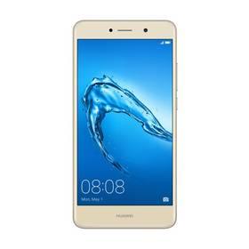 Huawei Y7 Dual SIM (SP-Y7DSGOM) zlatý SIM s kreditem T-Mobile 200Kč Twist Online Internet (zdarma) + Doprava zdarma