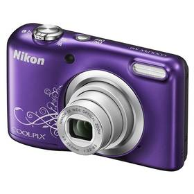 Nikon Coolpix A10 fialový + Doprava zdarma