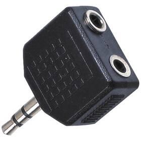 AQ stereo 3,5 mm jack / 2x 3,5 mm jack M/F (xaqcaa404)