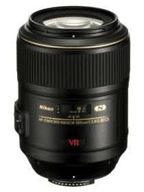 Nikon NIKKOR 105MM F2.8G IF-ED AF-S VR MICRO černý + cashback + Doprava zdarma