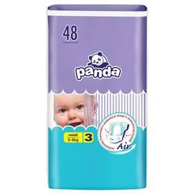 Panda Midi 48 ks Ubrousky čistící Panda 64 ks (zdarma)