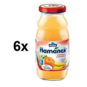 Hamánek s banánem a meruňkami 6x210ml