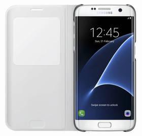 Samsung S-View pro Galaxy S7 Edge (EF-CG935P) (EF-CG935PWEGWW) bílé