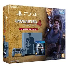 Sony PlayStation 4 1TB + Uncharted 4: A Thiefs End Limitovaná edice (PS719804451) + Doprava zdarma