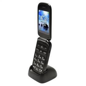 Mobilný telefón Aligator V550 (AV550TB) čierny/Titanium