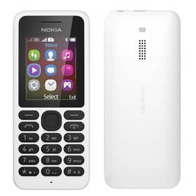 Mobilný telefón Nokia 130 Dual Sim (A00021158) biely
