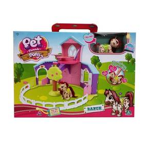 EP Line poník - hrací sada ranč