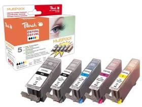 Peach Canon PGI-570XL/CLI-571XL, 975 stran, kompatibilní (319855) černá/červená/modrá/žlutá