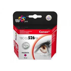 TB Canon CLI-526M - kompatibilní (TBC-CLI526MA) červená