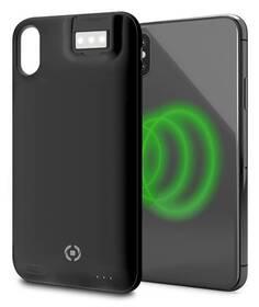 Celly Powercase Wireless pro Apple iPhone X/Xs (POWERCASE900BK) černý (vrácené zboží 8800365951)