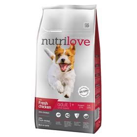 Nutrilove Dog dry Adult S fresh chicken 8kg
