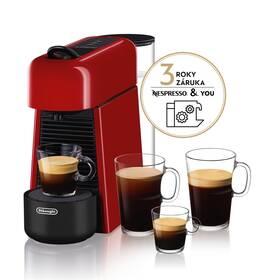 DeLonghi Nespresso Essenza Plus EN200.R červené