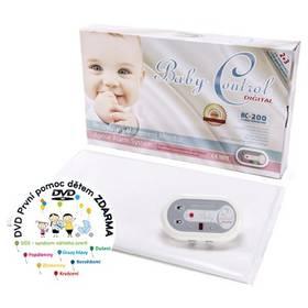 Baby Control BC-200, jedna senzorová podložka bílá + Doprava zdarma