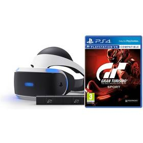 Sony PlayStation VR + Kamera + Gran Turismo Sport (PS719950066) + Doprava zdarma