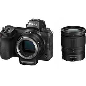 Nikon Z 6 + 24-70 + adaptér bajonetu FTZ KIT (VOA020K003) černý