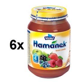 Hamánek 90% ovoce s lesním ovocem 6x190g