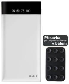 iGET POWER B 10000mAh (B-10000W) bílá