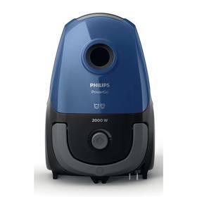 Philips PowerGO FC8245/09 modrý Pohlcovač vlhkosti Ceresit STOP VLHKOSTI AERO 360° (zdarma) + Doprava zdarma
