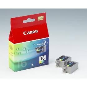Canon BCI-16C, 100 stran - originální (9818A002) červená/modrá/žlutá