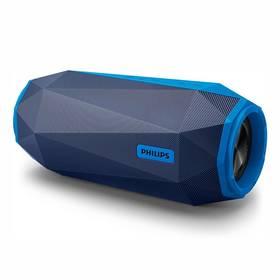 Philips SB500A/00 modrý Nabíječka baterií Philips SCB 1290 P (zdarma) + Doprava zdarma