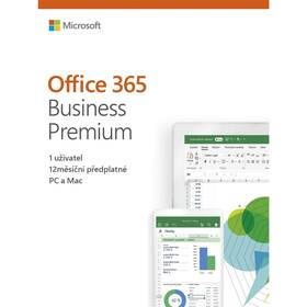 Microsoft Office 365 Business premium CZ (KLQ-00413)