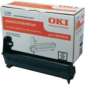 OKI C5850/5950/MC560, 20000 stran (43870024) černý