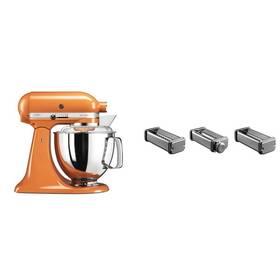 Set KitchenAid - kuchyňský robot 5KSM175PSETG + KPRA strojek na těstoviny + Doprava zdarma