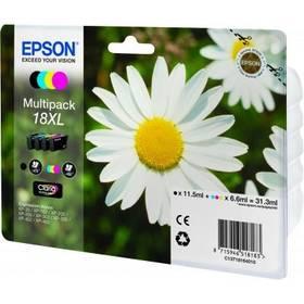 Epson T1816 multipack XL - originální (C13T18164010) černá/červená/modrá/žlutá