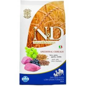 N&D Low Grain DOG Adult Lamb & Blueberry 12 kg Plastový kontejner na granule N&D Farmina + Doprava zdarma