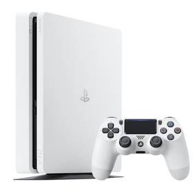 Sony PlayStation 4 SLIM 500GB (PS719816164) bílá