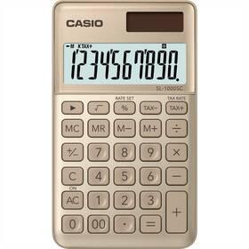 Casio SL 1000 SC GD zlatá