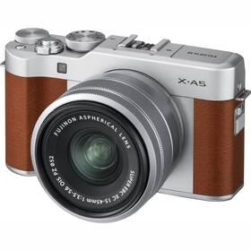 Fujifilm X-A5 + 15-45 mm hnědý