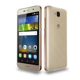 Huawei Y6 Pro Dual Sim (SP-Y6PRODSGOM) zlatý SIM s kreditem T-mobile 200Kč Twist Online Internet (zdarma)Paměťová karta Samsung Micro SDHC 16GB Class 10 - bez adaptéru (zdarma)+ Voucher na skin Skinzone pro Mobil CZ v hodnotě 399 Kč jako dárek+ Software F