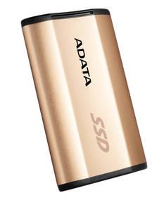A-Data SE730 250GB (ASE730-250GU31-CGD) zlatý + Doprava zdarma