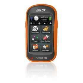 Holux Funtrek 132 CZ/SK (97153-10N) černá/oranžová + Doprava zdarma