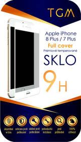 TGM Full Cover pro iPhone 7+/8+ (TGMAPIP7P8PWH) bílé + Doprava zdarma