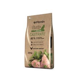 FITMIN Cat Purity Castrate 10 kg + Antiparazitní obojek za zvýhodněnou cenu + Doprava zdarma