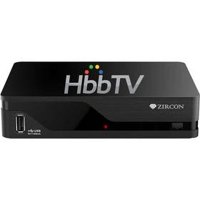Zircon AIR T2 s HbbTV černý