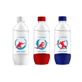 SodaStream JET 3 x 1 l SPORT GAMES