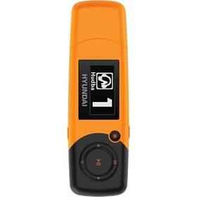 Hyundai MP 366 GB8 FM O oranžový (vrácené zboží 8800567955)