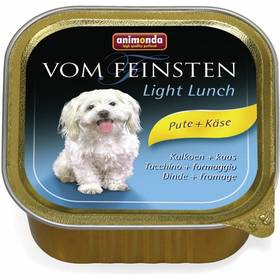 Animonda Vom Feinsten Light Lunch krůta + sýr 150g