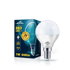 ETA EKO LEDka mini globe 7W, E14, teplá bílá (P45W7WW)