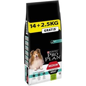 Purina Pro Plan MEDIUM ADULT Sensitive Digestion Jehně 14 kg + 2,5 kg + Doprava zdarma
