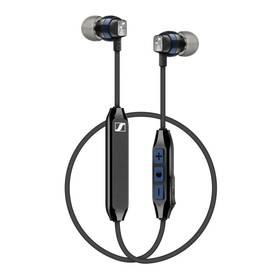 Sennheiser CX 6.00BT In-Ear Wireless (507447) černá/modrá + Doprava zdarma