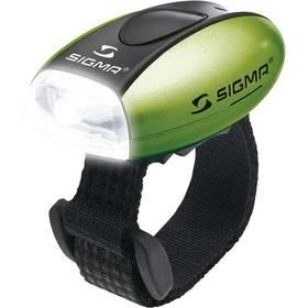 Sigma Sport MICRO C3 bílá/zelená + Doprava zdarma