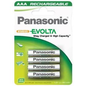 Panasonic Evolta AAA, 800 mAh, Ni-MH, blistr 4ks (142332)