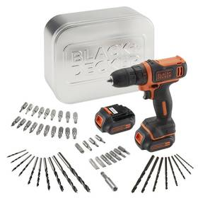 Black-Decker BDCDD12BAT, 2 aku